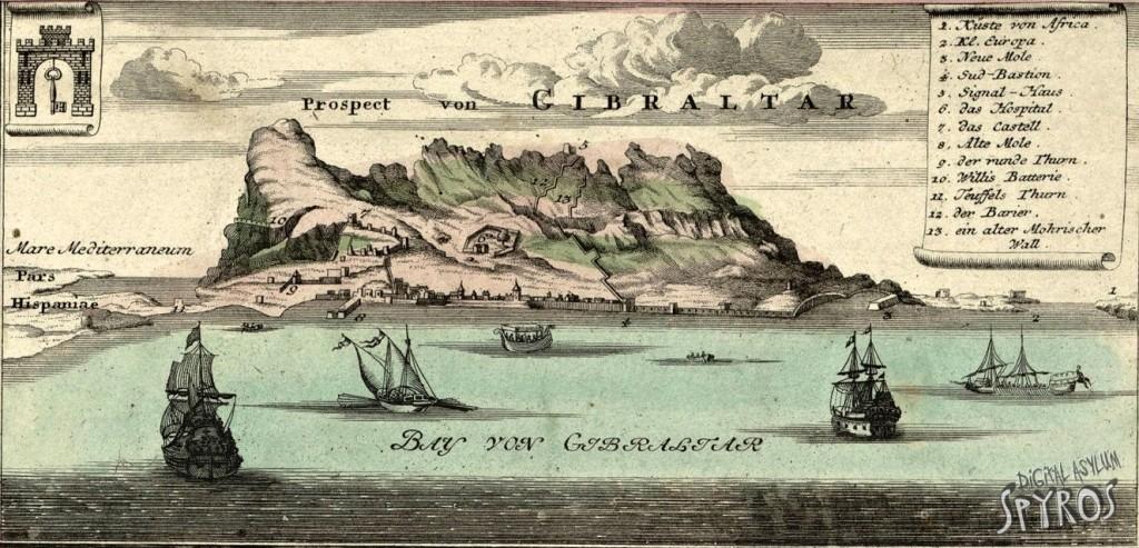 Gibraltar 1733