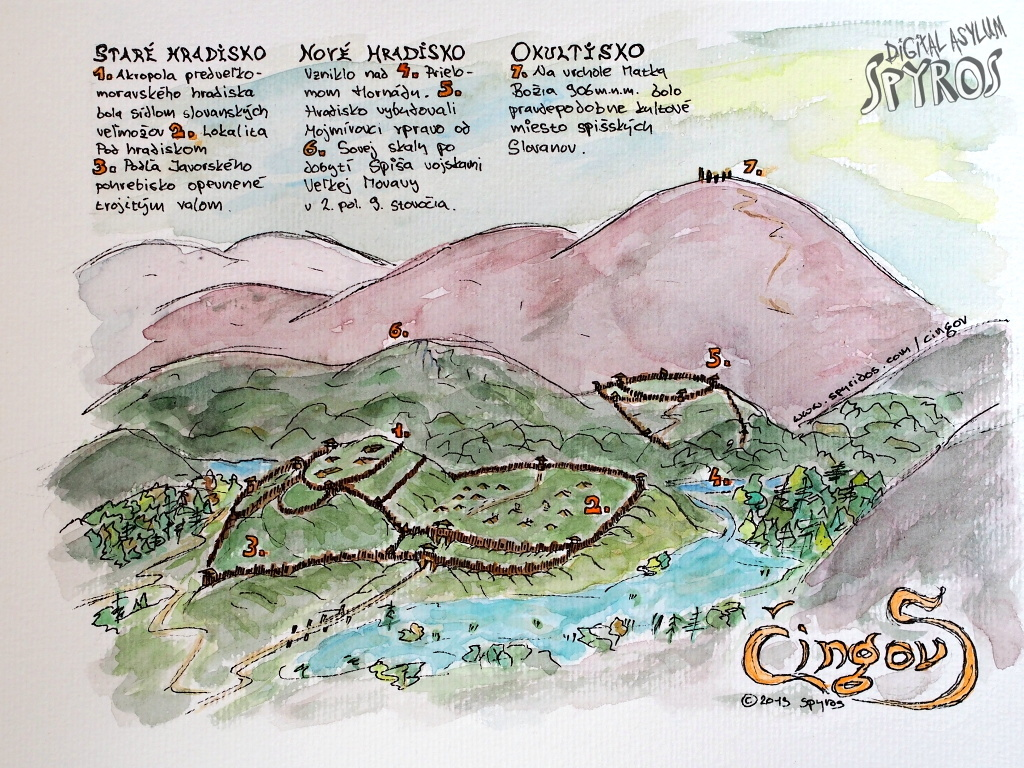 Slovanské hradiská na Čingove v Slovenskom Raji