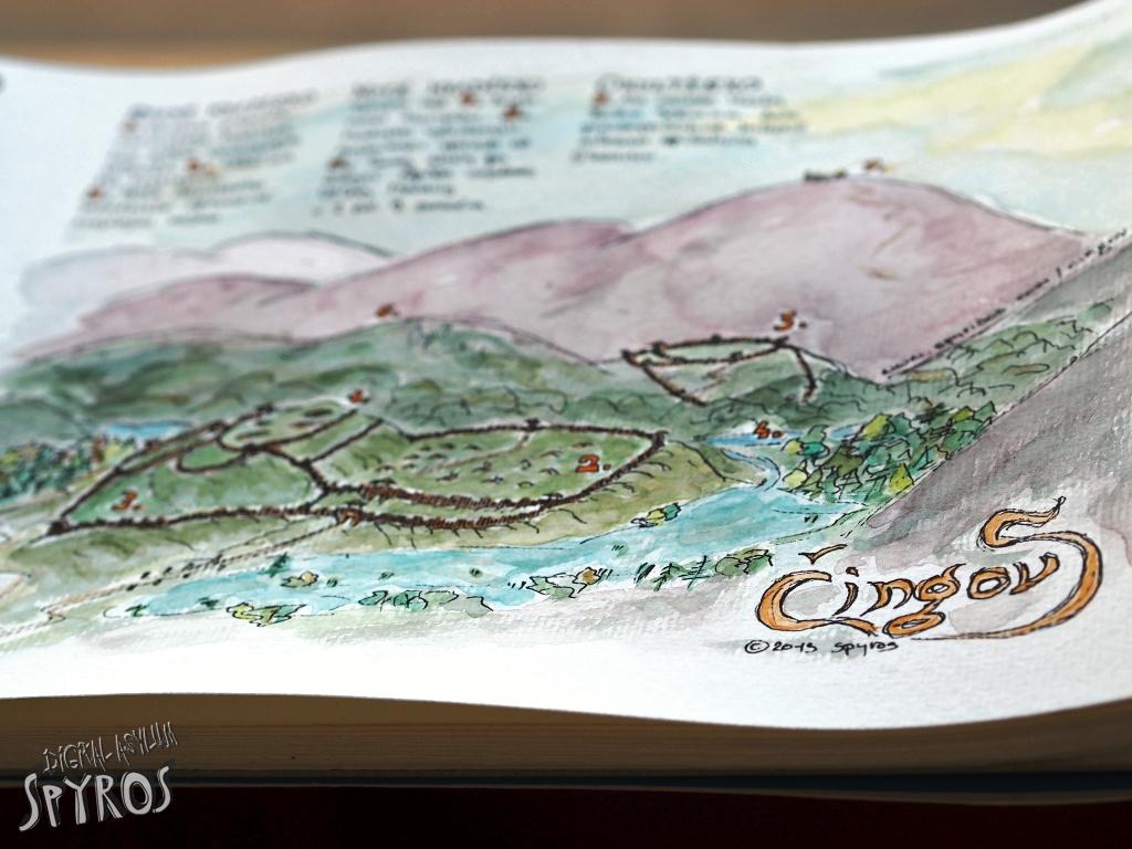 Slovanské hradiská na Čingove