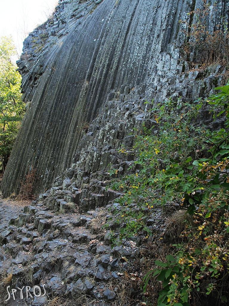 Šomoška - Kamenný vodopád