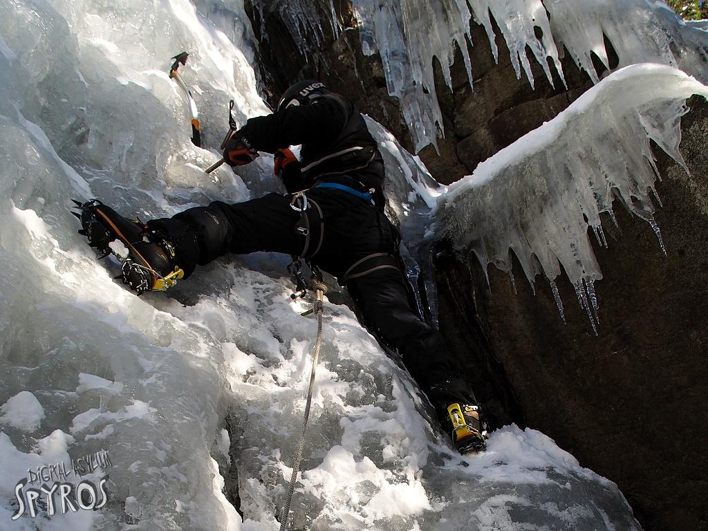 Ľadolezenie na Zamkovského ľade