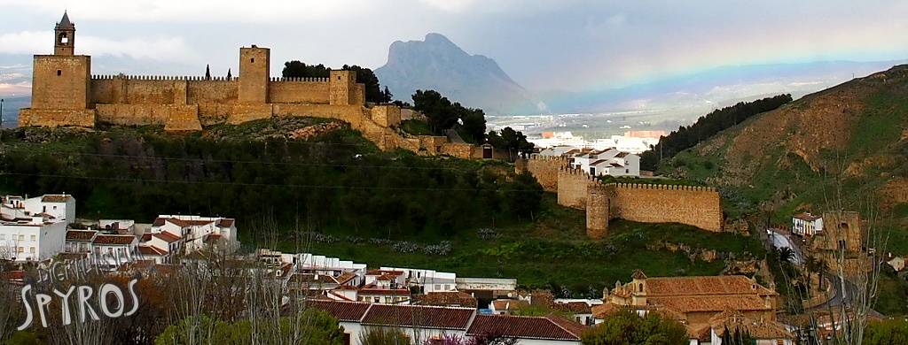Alcazaba of Antequera Panorama