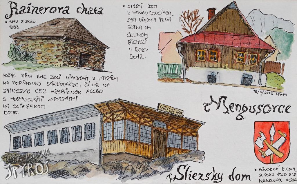 Rainerova chata, Sliezsky dom, Mengusovce
