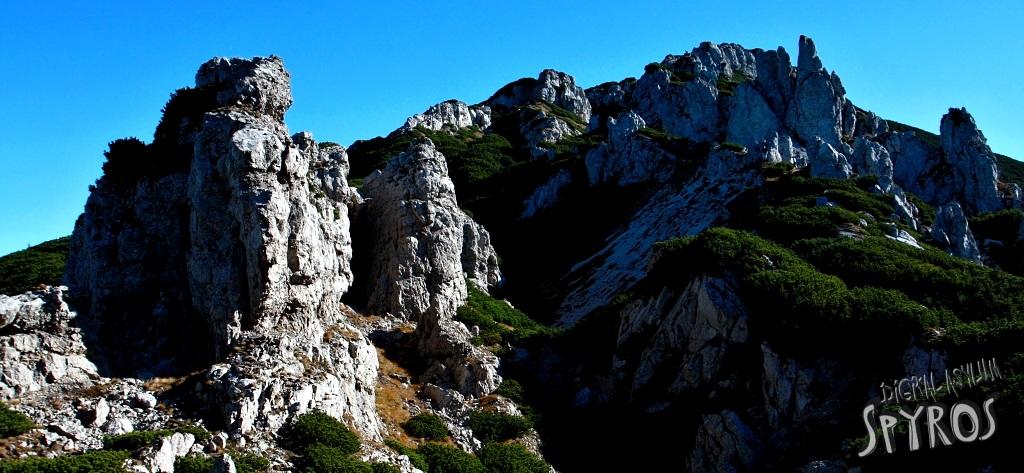 Radové skaly pod Sivým vrchom