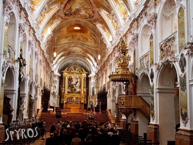 Freising Cathedral with Rococo interior