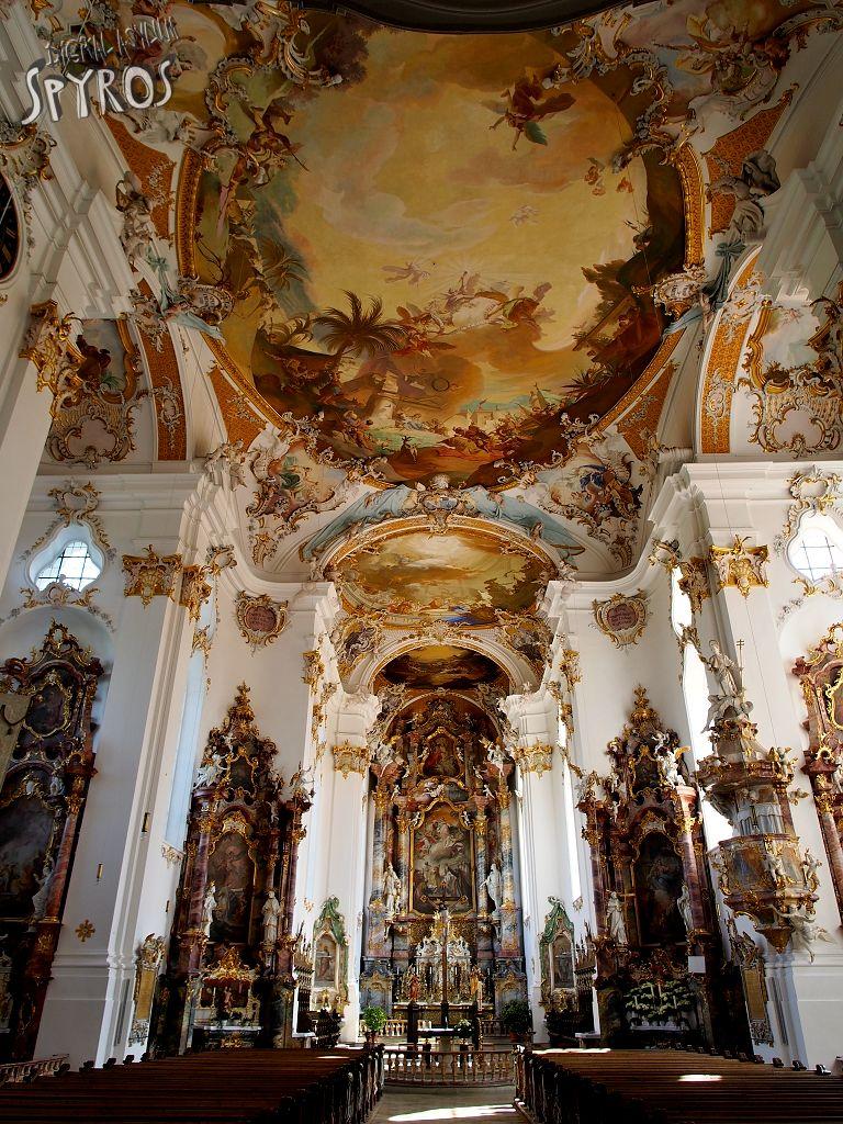 Reichsstift Roggenburg - interior