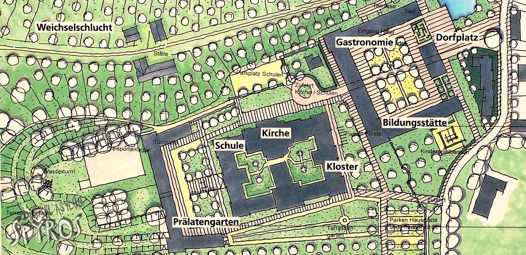 Reichsstift Roggenburg Map