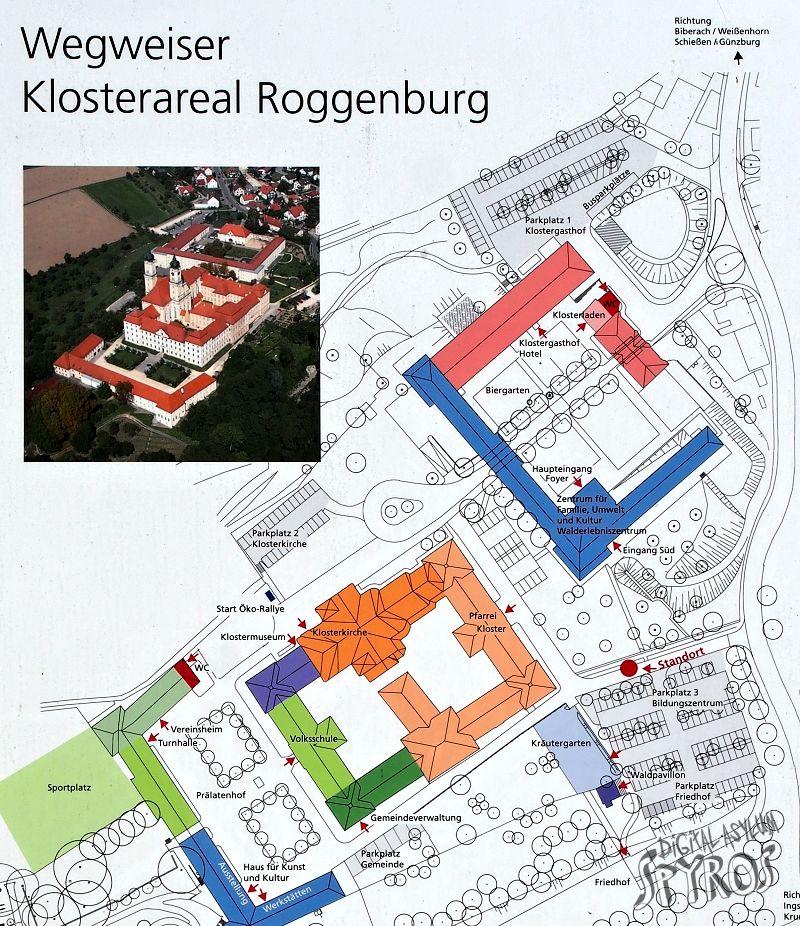 Reichsstift Roggenburg Plan