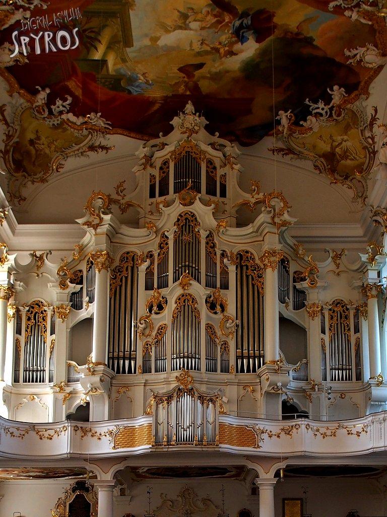Reichsstift Roggenburg - Organ