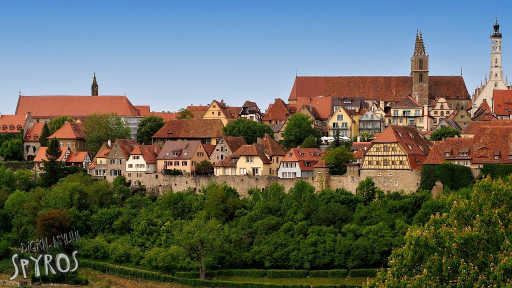 Rothenburg ob der Tauber - Panorama