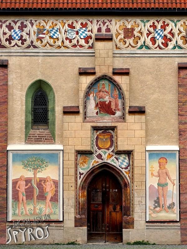 Blutenburg Schloss - Church Entrance