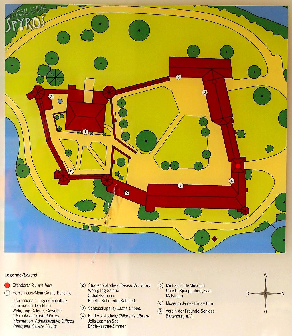 Blutenburg Schloss - Plan