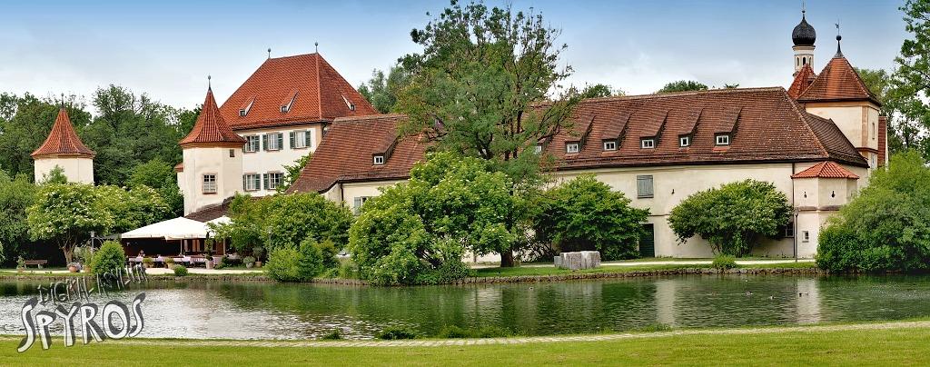 Blutenburg Schloss - Panorama