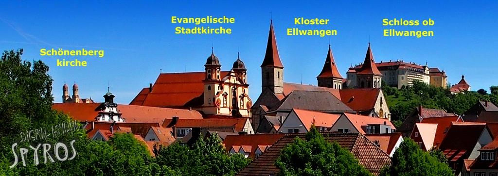 Ellwangen - Town Panorama