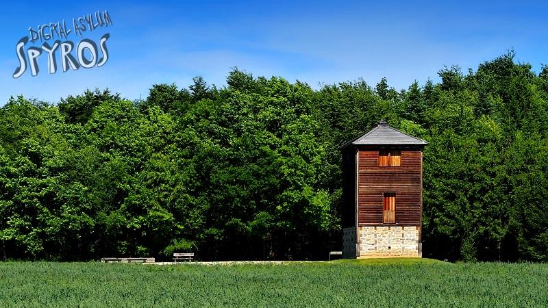 Rainau - Limes Wachtturm Rekonstruktion