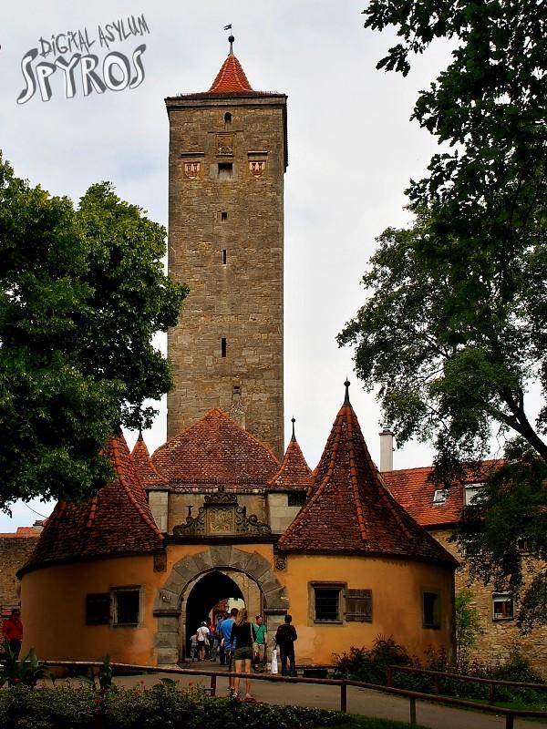 Rothenburg ob der Tauber - Hohenstaufen Castle