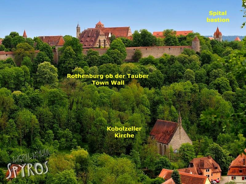 Rothenburg ob der Tauber - Kobolzeller Kirche