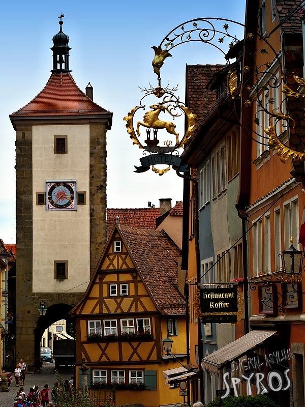 Rothenburg ob der Tauber - Plönlein - Siebertor