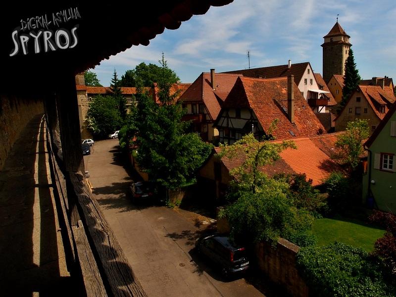 Rothenburg ob der Tauber - Šibeničná brána