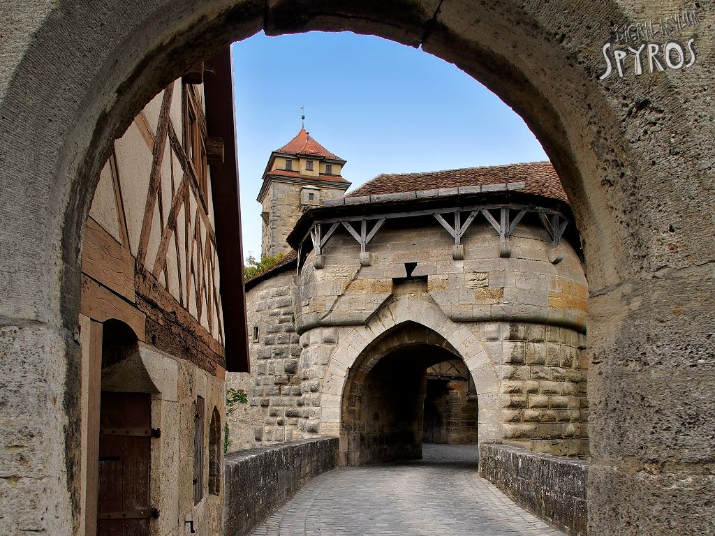 Rothenburg ob der Tauber - Spital Bastion