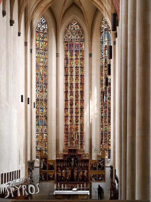Rothenburg ob der Tauber - -St. Jakob - Twelve Apostles