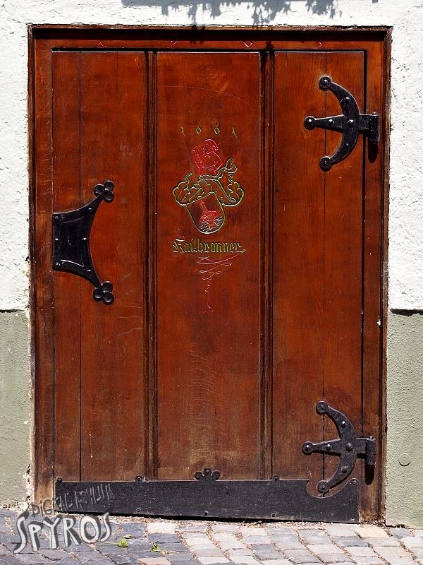 Ulm - Fischerviertel - Door of the Ages