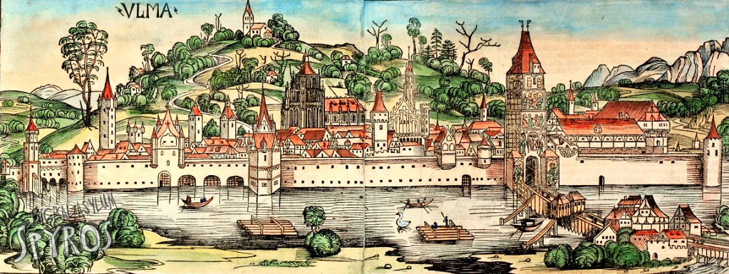 Ulm - Map from 1493