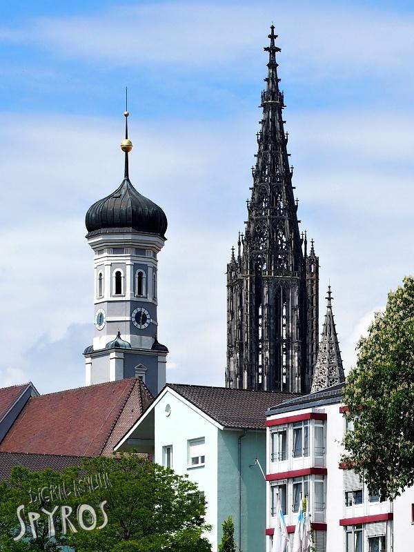 Ulm Münster from Neu-Ulm