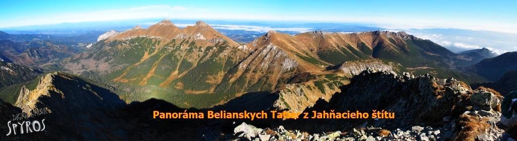 Belianske Tatry z Jahňacieho štítu