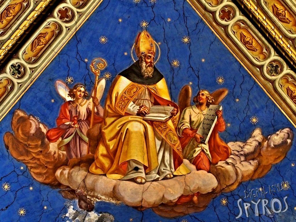 Sancta Maria supra Minervam - Ceiling Detail