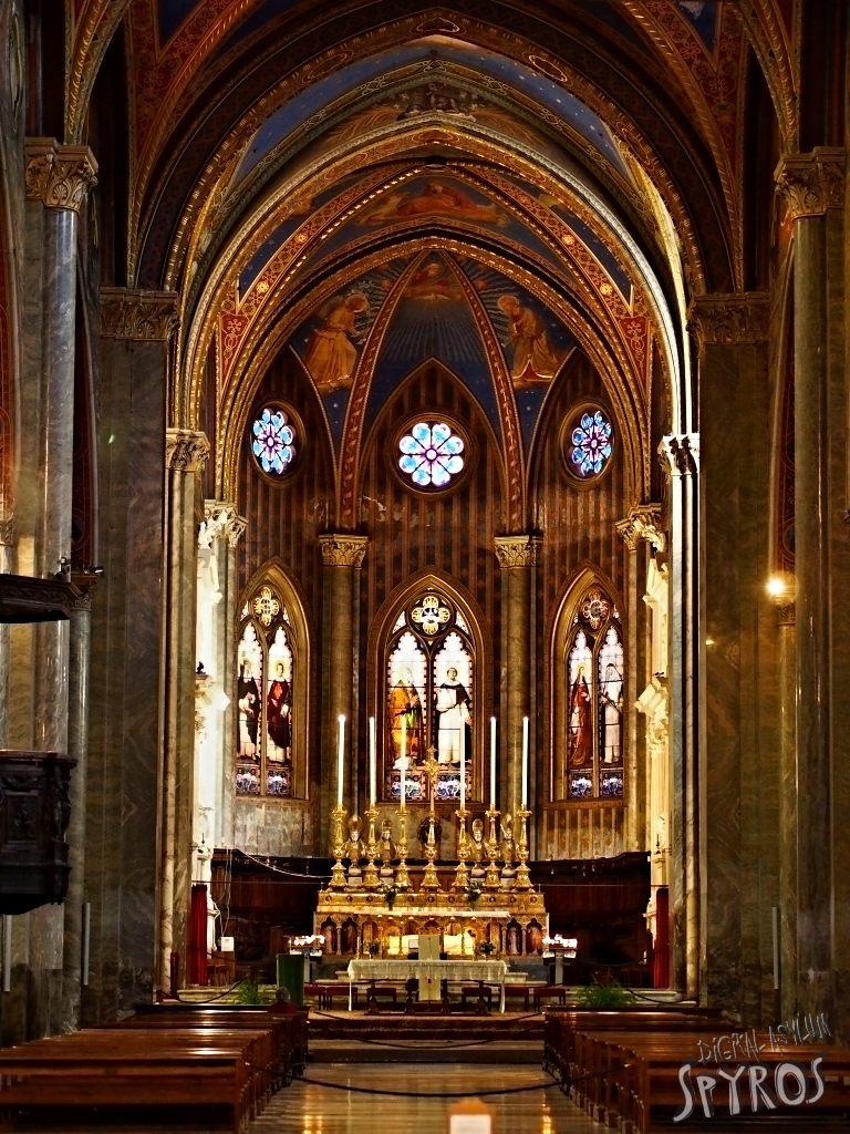 Sancta Maria supra Minervam - Main Oltair