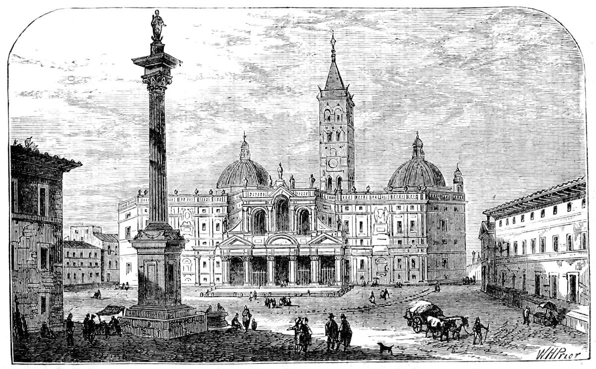 Basilica Santa Maria Maggiore - 19th Century