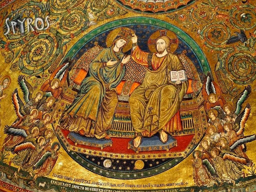 Basilica Santa Maria Maggiore - Apside Mosaic