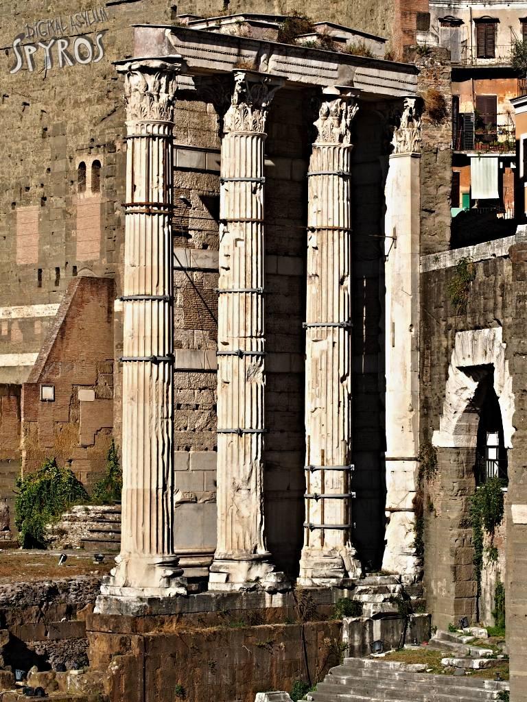 Forum Augustus - Temple of Mars Ultor