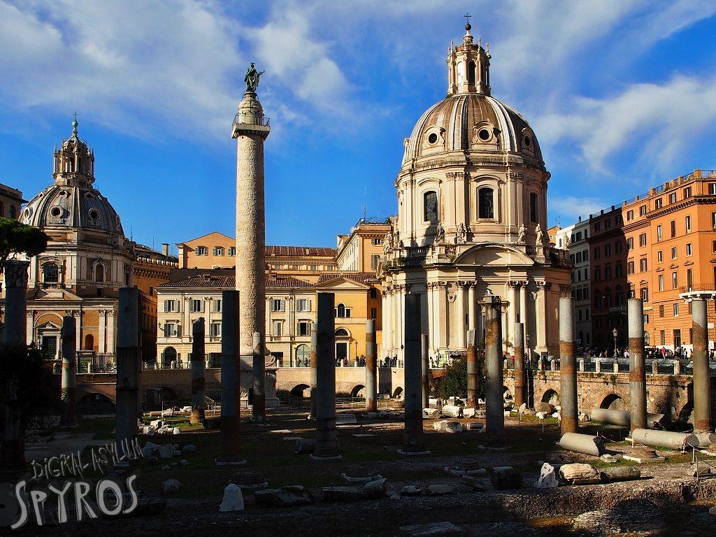 Forum Traiani - Basilica Ulpia