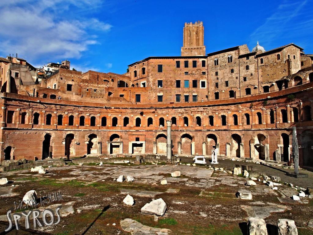 Forum Traiani - Mercatus Traiani