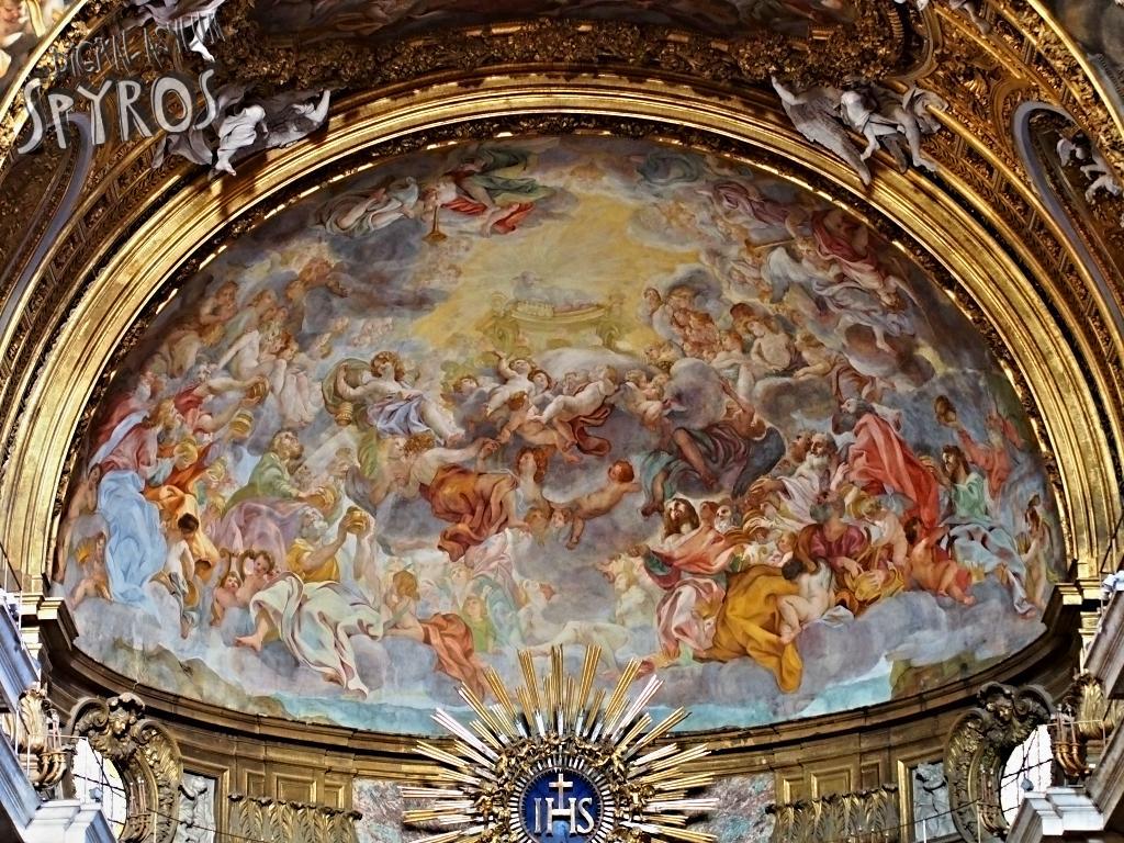 Chiesa del Gesù - Apside