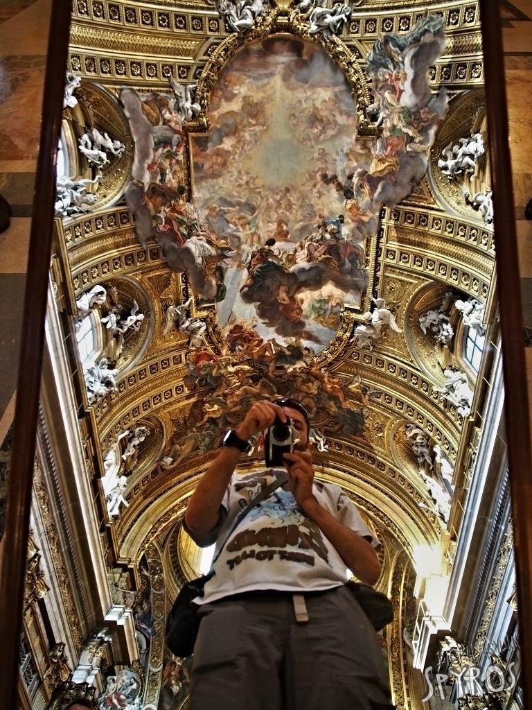 Chiesa del Gesù - Ceiling