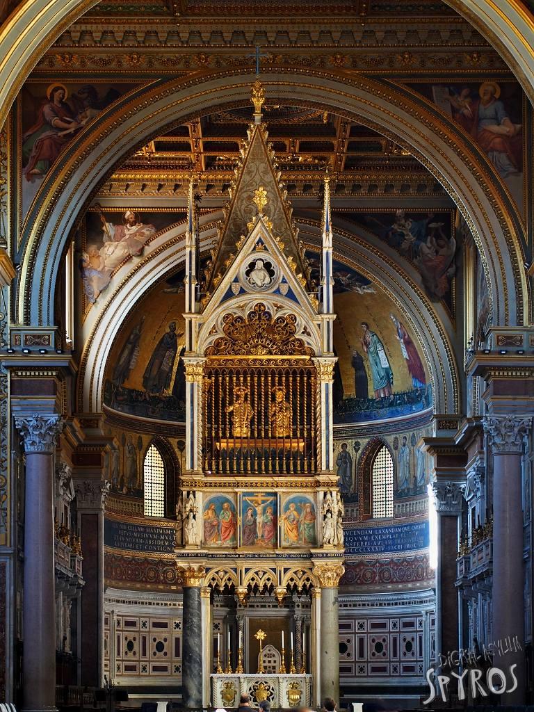 Lateran Basilica - Baldacchino