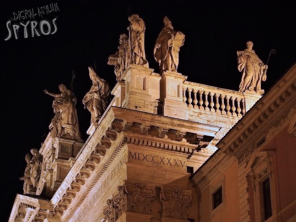 Lateran Basilica - Facade Detail