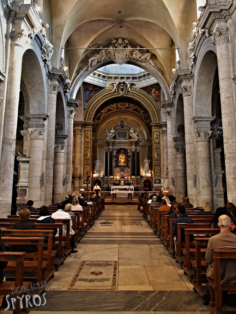 Bazilika Santa Maria del Popolo - Oltár