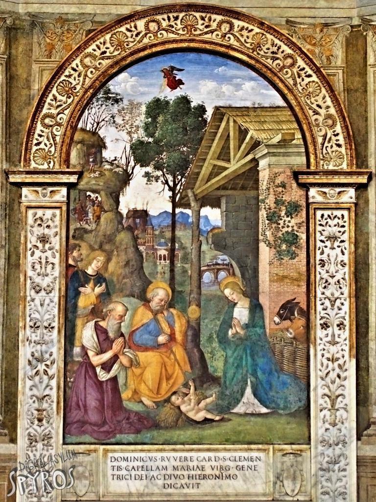 Bazilika Santa Maria del Popolo - Pinturicchio