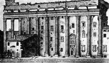 Hadrianeum by Alo Giovannoli 1615