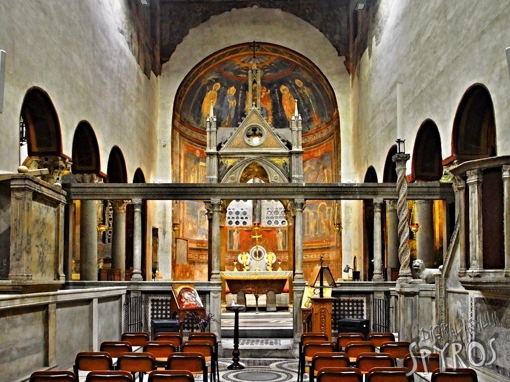Basilica di Santa Maria in Cosmedin - Interier