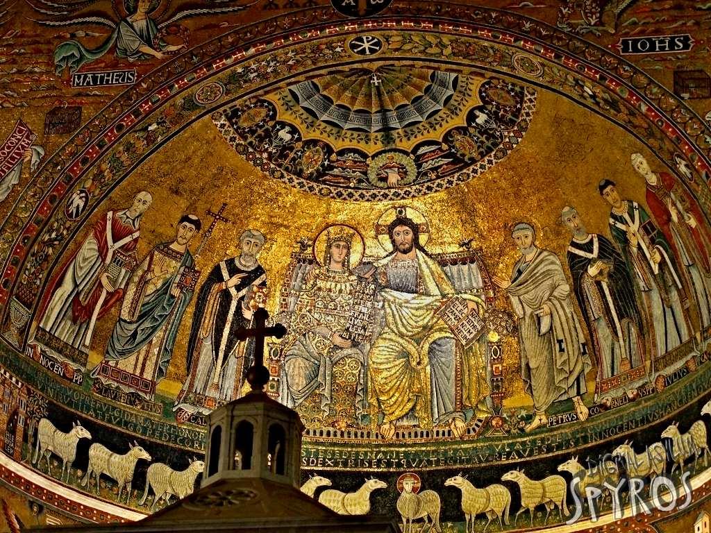 Basilica Santa Maria in Trastavere - Apside