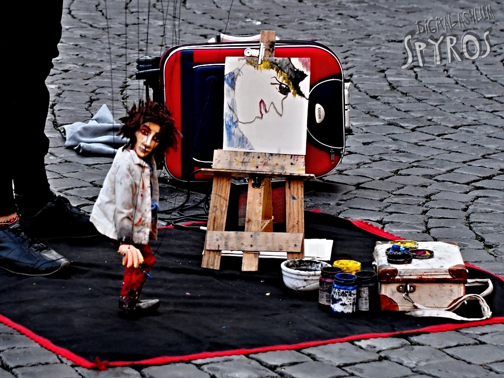 Trastevere - Piazza di Santa Maria