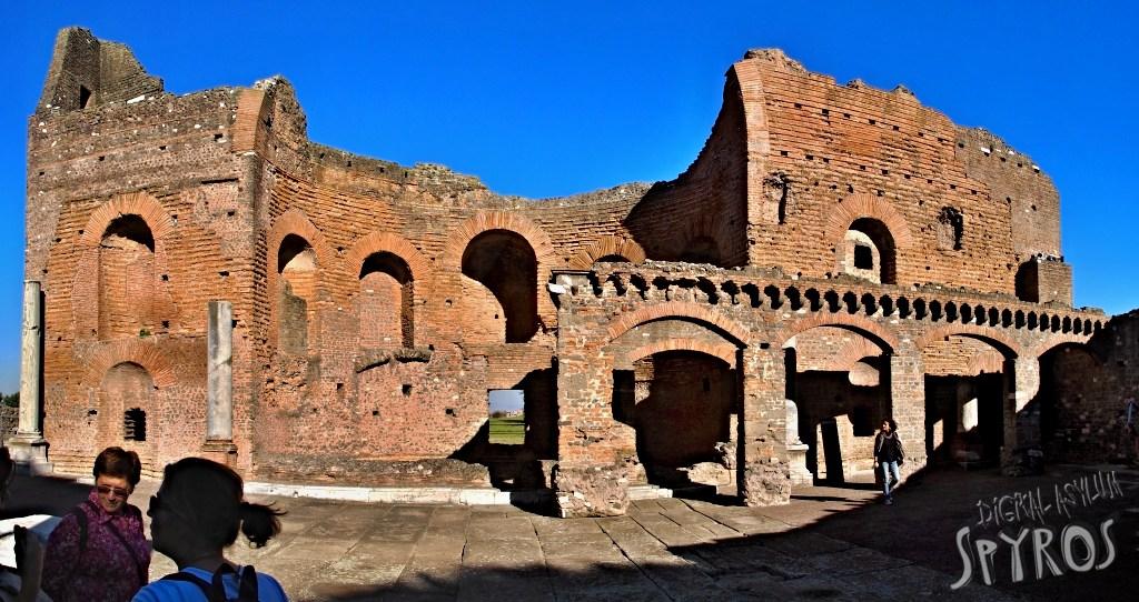 Via Appia - Villa dei Quintili