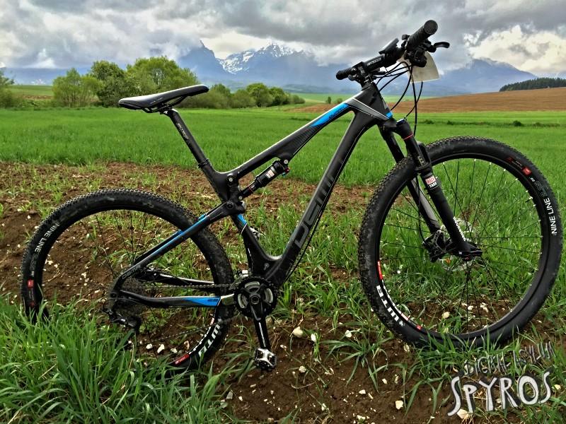 DEMA Quark 5.0 2016 XC MTB 29 bicykel