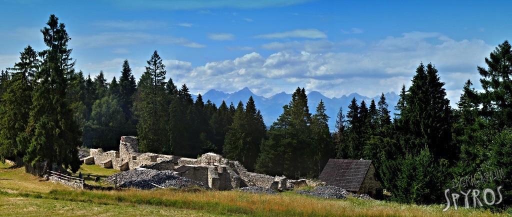Kláštorisko - panoráma Tatier