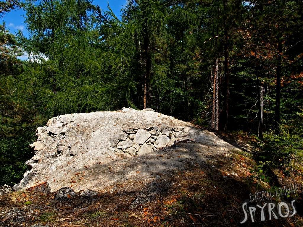 Hrad Lipovce - južná veža